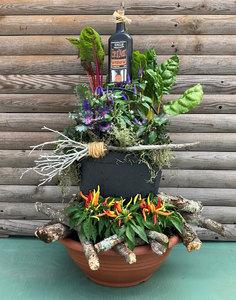 Sun Sep 12 Hocus Pocus Witch's Cauldron with Fire Pit